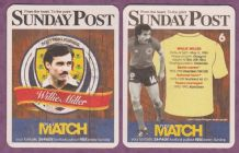 Scotland Willie Miller Aberdeen 6 (SP)